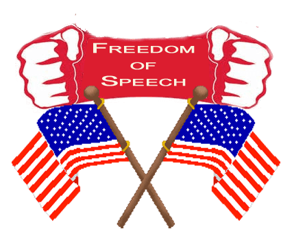 an interpretation of the us first amendment with regards to freedom of speech First amendment - the meaning freedom of speech and of the press: the first amendment allows citizens to express and to be exposed to a wide range of opinions and views it was intended to ensure a free exchange of ideas even if the ideas are unpopular.