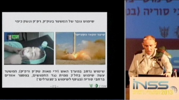 Israel Source Chemical Weapons Intel