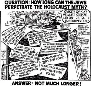 holocaust myth cartoon
