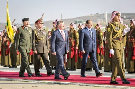 abdulla II-sisi-summit